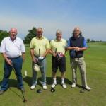 Devon Captains' versus South West Secretaries at Worlebury G C