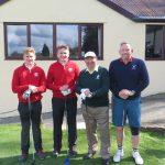 Devon Golf Captains v Devon Golf Juniors, Okehampton GC. April 3rd 2017