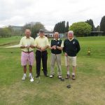 Captain versus Vice Captain, Stover GC 21st May. Results