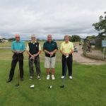 Devon Captains versus Wiltshire Captains. Warren GC