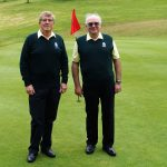 Captain versus Vice Captain. Sidmouth GC May 1st