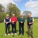 Devon Captains versus Hampshire Captains. Woodbury GC May 3rd