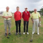 Devon Captains v Devon County Juniors. Dawlish Warren GC August 9th